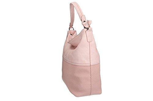 Borsa donna a spalla PIERRE CARDIN rosa con apertura zip VN1286 Ofertas De Venta Barata Última De Descuento Aberdeen Envío Libre Originales YGt8AP