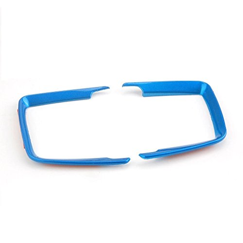 Emblem Trading Lichtschalter Rahmen Blende ABS Blau Passend f/ür 3er F30 F31 F34 3GT 4er F36 M3 M4