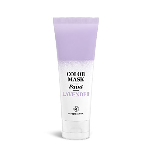 KC Professional Color Mask Paint Semi-Permanent Pastel Lavender Hair Color Cream - Color Mask Paint Pastel Lavender, Direct Hair Dye 2.55 oz
