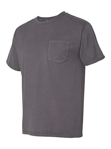(Hanes ComfortWash Garment Dyed Short Sleeve T-Shirt With a Pocket - GDH150)