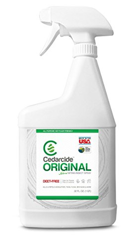 Cedar Oil Stain (Cedarcide Original Biting Insect Spray)