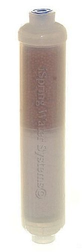 iSpring FA15 10-inch Inline 3-Layer Alkaline Replacement Water Filter Cartridge with Mineral balls, Calcite and Corosex