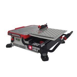 "Porter Cable PCC780LA 20V MAX 7"" Sliding Table Top Wet Tile Saw"