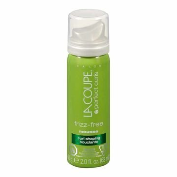 La Coupe Frizz-Free Curl Shaping Mousse- 2 Fl Oz Size- 6 Pack -