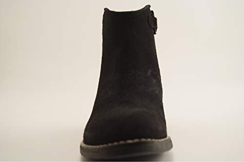 Boots Glitter Basilio Noir Reqins Peau xwXdt
