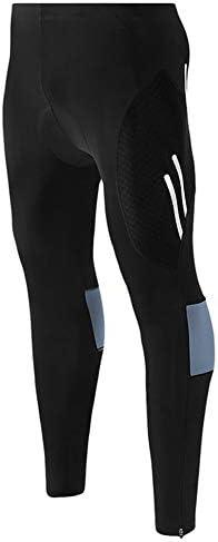メンズベース層、ズボンを実行しているスポーツ、エクササイズバイクに適した快適なメンズランニングタイツ、タイトな圧縮パンツ、,A,4XL