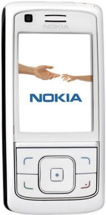 Nokia 6288 Unlocked Triband Camera Phone (White)