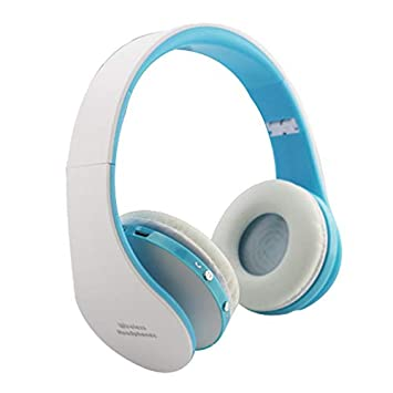 JEOHMMA - Auriculares inalámbricos Bluetooth con micrófono, estéreo, Plegables, para Llamadas Manos Libres