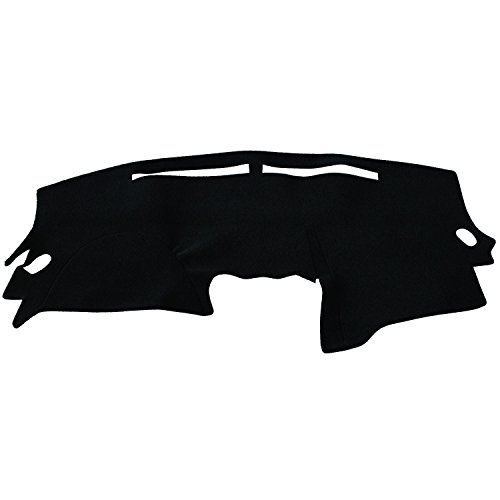 Hex Autoparts Dash Cover Mat Dashboard Pad for Nissan Altima 2007 2008 2009 2010 2011 2012 (Black)