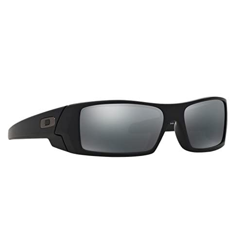 03e0f61f96 durable modeling Oakley GasCan Matte Black w  Black Iridium 24-435 +  ShadesDaddy Glasses