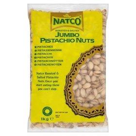 Natco Foods Ltd Natco Pistachio Nuts R/S Jumbo 6X1Kg