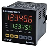 Counter, Timer, Touch Type, CT Series, 6 Digits, Indicator, 72 x 72 mm, 100 Vac to 240 Vac