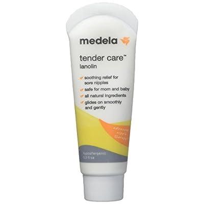 Medela Tender Care Lanolin Soothing relief for sore nipples - 0.3 oz (Pack of 3 Tube)