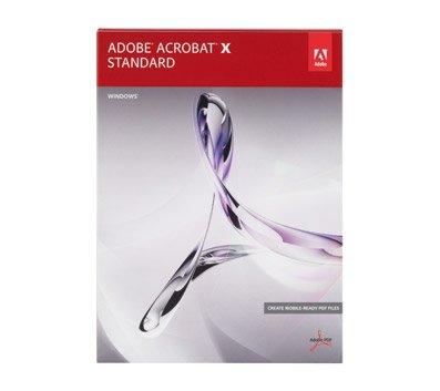Adobe Acrobat X Standard  Windows