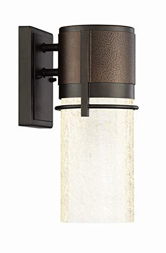 DF SmartPlus LED32911-VC-BBZ Smart Outdoor LED Wall Lantern, 1-Pack, Brushed Bronze
