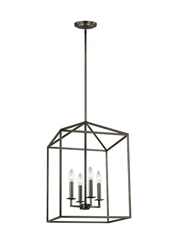 Sea Gull Lighting 5215004-782 Four Light Hall/Foyer, Heirloom Bronze