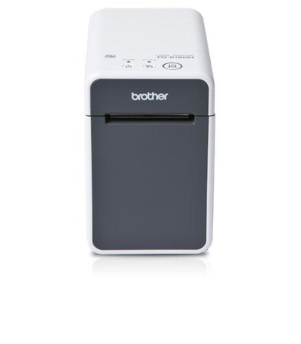 Brother QL-700 Imprimante d'étiquettes professionnelle | P-touch Editor Lite | 93 étiquettes/min | impression 300x600 dpi| Inclus 2 rouleaux DK (100 étiquettes / 62mm continu)