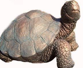 Adorno grande de tortuga para jardín, acabado en bronce: Amazon.es: Jardín