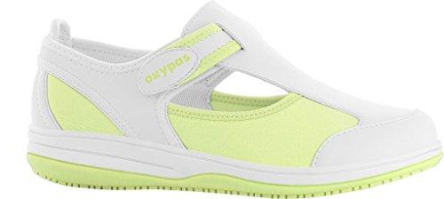 Violet et Antistatique Lycra Oxypas en médicale Blanche Chaussure Vert SRC qRRztSr