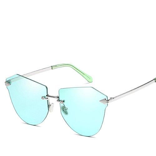 Moda Sin De Femenino Sol De HAIHAI De Sol Gafas Película 6 De De Tendencia Marco Color Gafas De Sol Nueva 1 Gafas Metal qpfO6wfIa