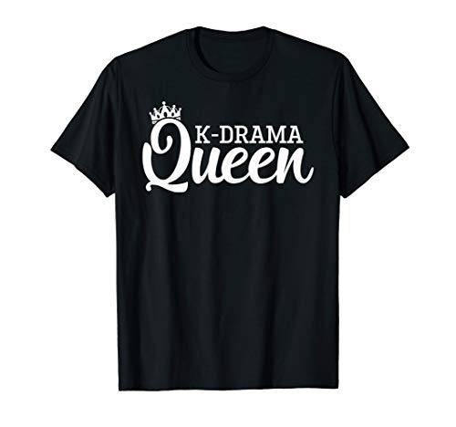 K-Drama Queen S.Korea Culture Lovers Cute Gift T Shirt
