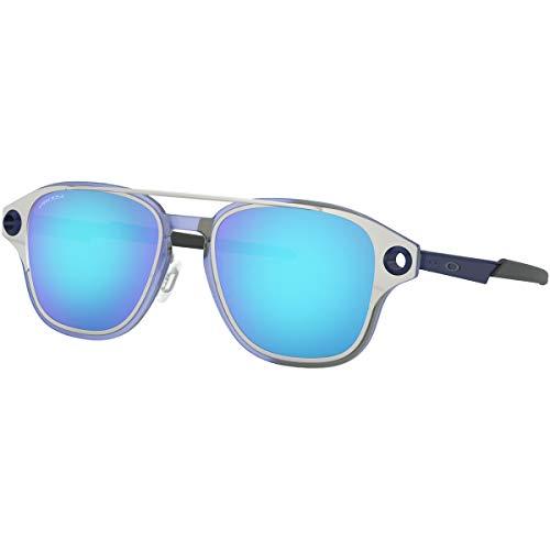 Oakley Men's Coldfuse Square Sunglasses, Satin Chrome, 51.9 mm ()