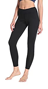 NiCMS High Waist Yoga Pants for Women,Stretch Pants for Workout and Fitness,Black,Large