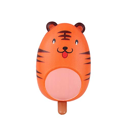 Nivalkid Mini Adorable Ice-lolly Kids Fun Stress Reliever Decompression Toy Simulation of Colorful Ice Cream Decoration Furnishings Props Children's Toys PU Fake Ice Cream Toys (G)