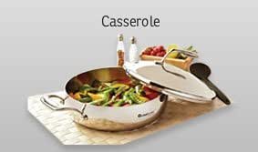 """Tupperware New Chef Series 8"""" Stainless Steel Fry Pan with Cover"""