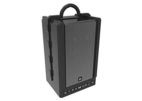 100 Ft Wireless Speaker Range Portable Bluetooth Speaker Rich Bass Black
