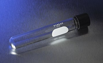 CORNING - PYREX 50mL Screw Cap Cult Tubes w/ Phenolic Caps, 22x175mm, CS192 by Corning