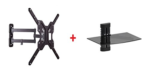Mount Plus LDA11-DV291 LCD LED Swivel Tilt Wall Mount Bracket for 23