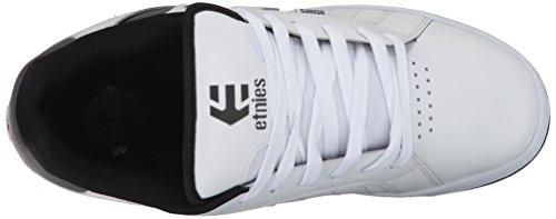Skateboard black 2 Fader Blanc Etnies De grey white Homme Chaussures nfIx6xagq