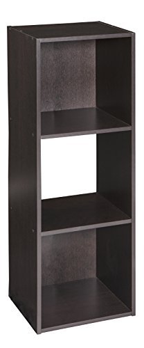 ClosetMaid 4185 Cubeicals Organizer, 3-Cube, Chocolate Brown Storage Cabinet