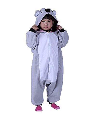 Women's Sleepwear Halloween Pajamas Homewear Costumes Kigurumi Animal Outfit Loungewear Christmas (Size 105 -for Height:116-125cm,Koala)