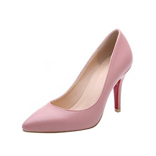 Pumps Einfache Pink HooH Spitze Y2623 Frauen w75xqt