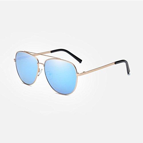 Gafas de de Gafas aire Frame polarizadas viaje LSX Ice water Lens LX Color lens libre frame silver Blue clásica Gold nueva sol Hombres de conducción Silver al zw5xxq7