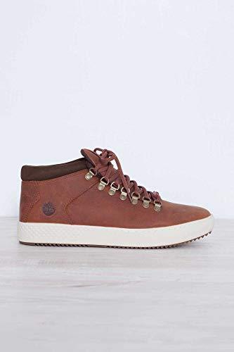 con Sneakers Timberland Marrone in Pelle Suola Gomma Numero in 40 Uomo 7TanxTqX
