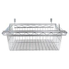 - Sliding Wire Basket For Wire Shelving, 18w x 18d x 8h, - Wire Sliding Alera Basket