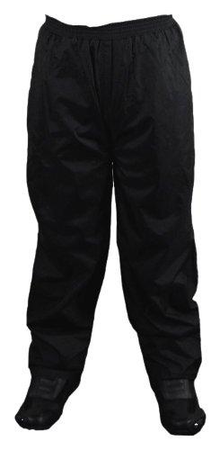 Vega Rain Pants (Black, Large) by Vega Technical Gear
