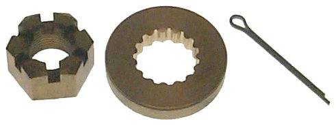 Shaft Prop Sierra (Sierra International 18-3715 Marine Prop Nut Kit for Johnson/Evinrude Motor)