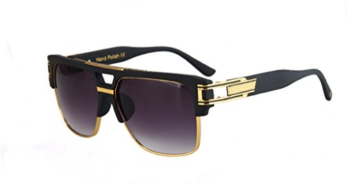 Star Style Sunglasses Retro Polarized Rectangular - Sunglasses Baby Dior