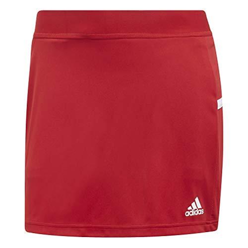 Jupe Red T19 Femme white short Adidas Skort Power W qgwn6t