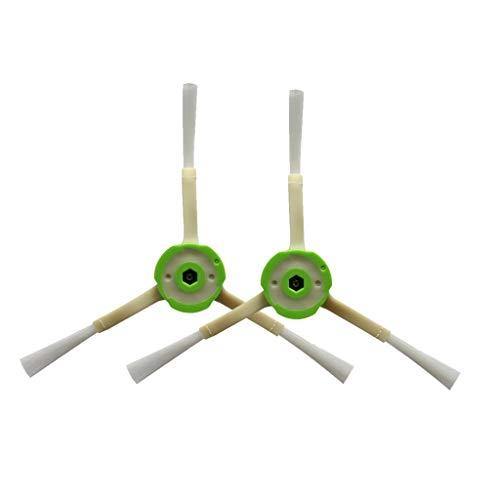 Kanzd Bristle Brushes Kits for iRobot Roomba i7 i7+/i7 Plus E5 E6 E7 Vacuum Cleaner (B) (Best Vacuum Cleaner For Hardwood)
