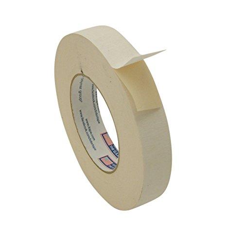 Intertape 591 Double Sided Flatback Paper Tape: 1 in. x 36 yds. (Carpet Masking Tape)