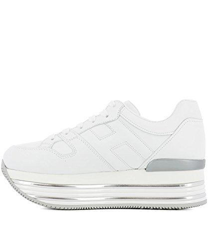 White Leather Women's HXW3460T548KLAB001 Hogan Sneakers ZRPFwqx