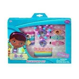 Disney Doc McStuffins Girls 15 Piece Jewelry and Hair Accessory Gift Box Set ()