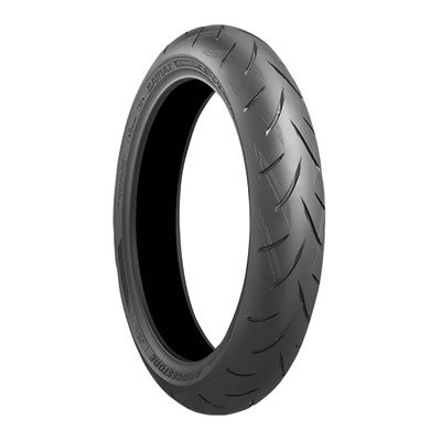 120/70ZR-17 (58W) Bridgestone Battlax S21 Hypersport Front Motorcycle Tire for Suzuki Hayabusa GSX1300R 2011-2018