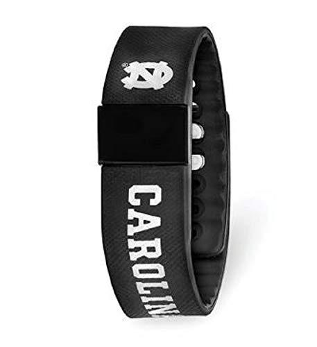 Collegiate University Of North Carolina LogoArt Fitness Watch from QG001