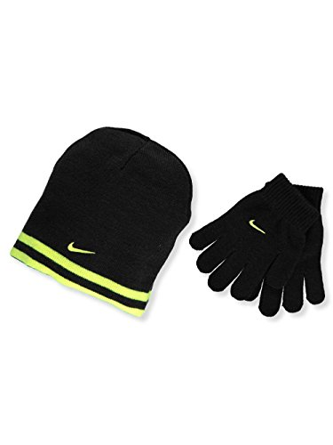 Nike Boy`s Reversible Beanie and Gloves Set – DiZiSports Store
